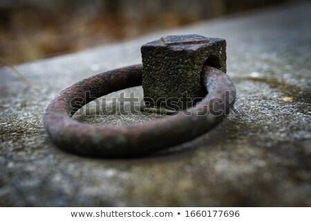 металл кольца могилы древних подробность фон Сток-фото © taviphoto