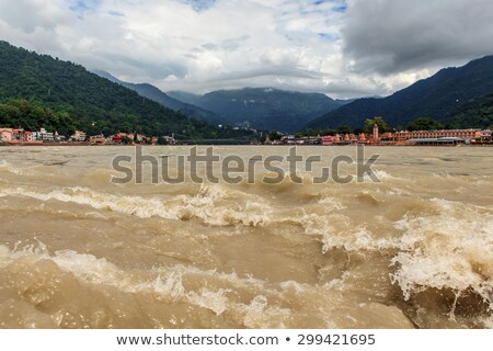 Indian Holy river The Ganga. Stock photo © ziprashantzi