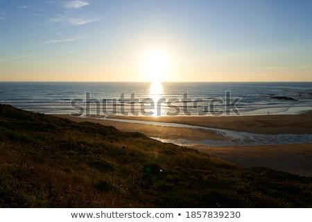 Tranquilo océano playa isla bancos Foto stock © wildnerdpix