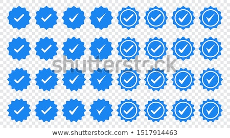 Originale produit bleu vecteur icône design Photo stock © rizwanali3d