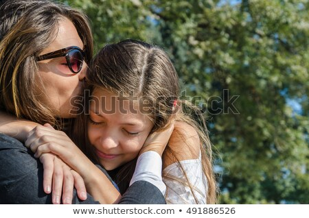 mother and teenager in park Stock photo © Paha_L