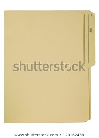 dosya · Klasör · arşiv · görmek · bulanık - stok fotoğraf © tashatuvango
