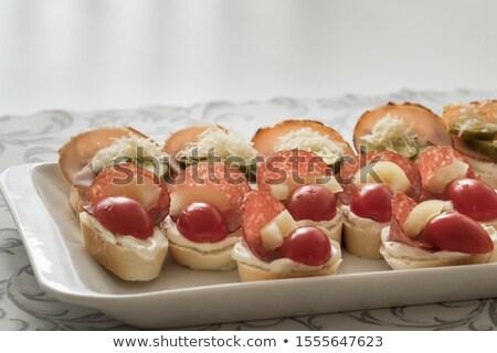 томатный огурца Sweet перец быстро Сток-фото © fogen