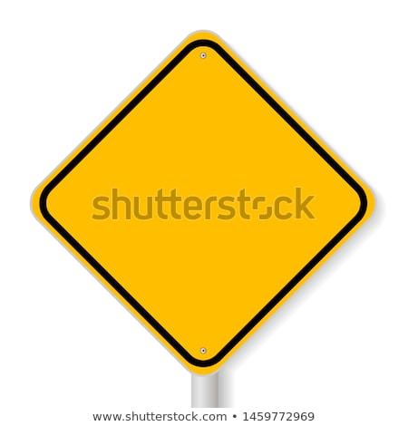 Szett stop jelzőtábla izolált fehér csoport Stock fotó © boroda