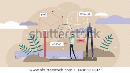 Mathematical figures Stock photo © bluering