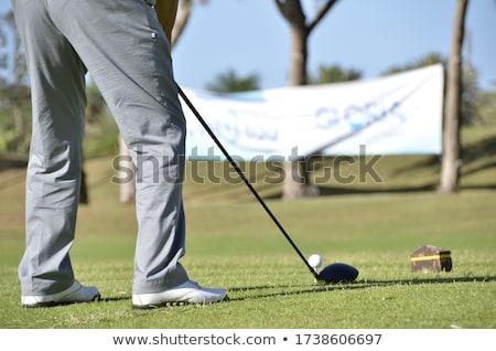 Azul calças golfe pormenor esportes Foto stock © CaptureLight
