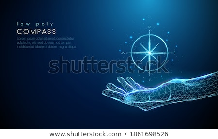 Compass Background Web Background Stock photo © fenton