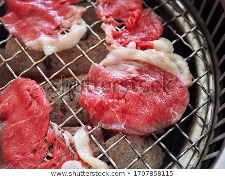 薄い スライス 薫製 マリネ 牛肉 ストックフォト © Digifoodstock