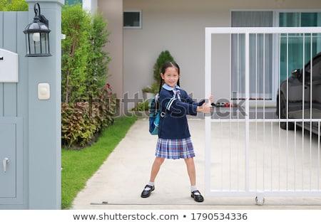 portrait of young asian girl stock photo © szefei
