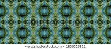 floral ornament turquoise neutral seamless pattern for modern d stock photo © almagami