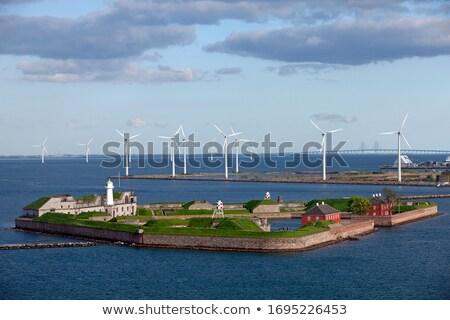 Fort Kopenhagen Denemarken augustus 17 2016 Stockfoto © oliverfoerstner