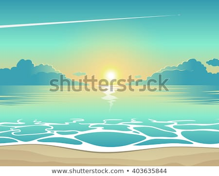 napsütés · vízalatti · illusztráció · víz · absztrakt · fény - stock fotó © carodi