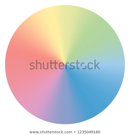 soft color conical gradient vector background Stock photo © SArts