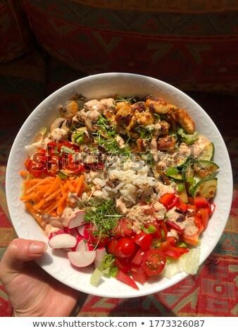 кухня Ингредиенты продовольствие кухне ресторан Сток-фото © inaquim