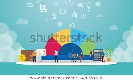 crédito · puntuación · detallado · ilustración · eps10 · vector - foto stock © unkreatives