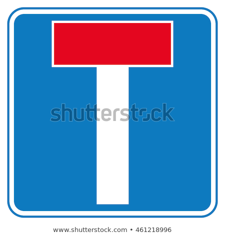 No Through Road sign Stock photo © peterguess