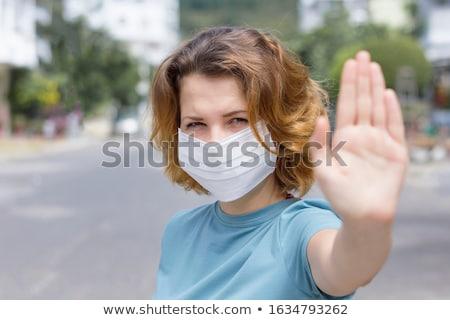Grippe. Medical Concept. Stock photo © tashatuvango