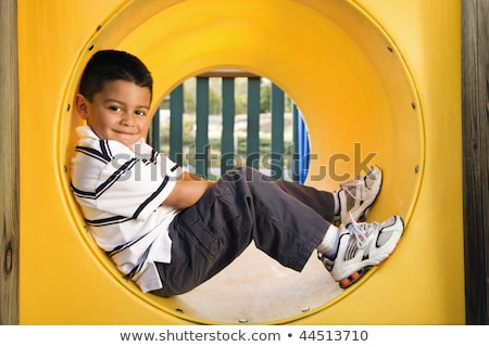 young boy smiling at viewer Stock photo © IS2