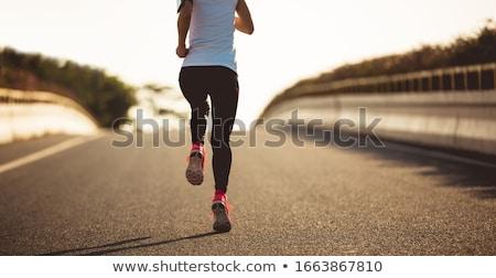 girl running stock photo © lenm