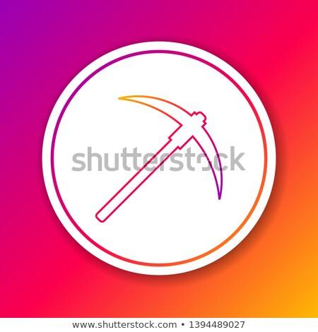 vonal · terv · ikonok · pénzügy · számítógép · hálózat - stock fotó © wad