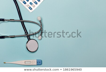 Pills and Stethoscope Stock photo © AlphaBaby