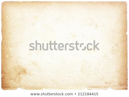 grunge · bağbozumu · Eski · kağıt · levha · kâğıt · boya - stok fotoğraf © inxti