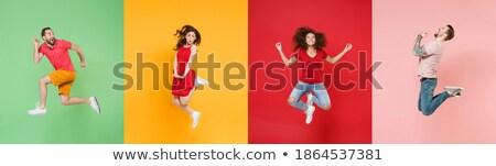 Girls in four actions Stock photo © colematt