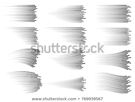 Manga dessinées mouvement vitesse lignes Photo stock © SArts