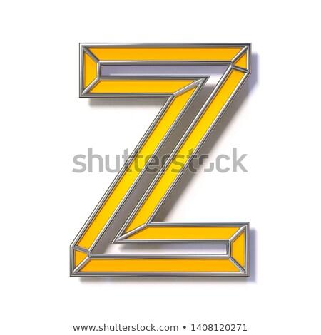 оранжевый · шрифт · 3D · 3d · визуализации · иллюстрация - Сток-фото © djmilic