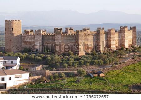 Medieval fortified castle Stock photo © grafvision