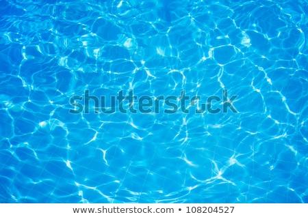 Türkis Wasser Schwimmbad Schwimmen Pool Hintergrund Stock foto © dolgachov
