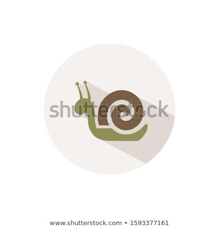 Melc icoană umbră bej cerc cădea Imagine de stoc © Imaagio
