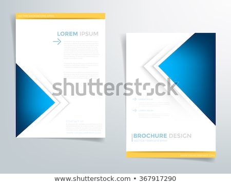 Your business article - colorful vector brochure template Stock photo © Decorwithme