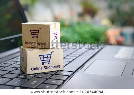 Loja on-line compra internet compras on-line Foto stock © robuart