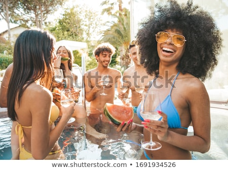 african bikini stock photo © poco_bw