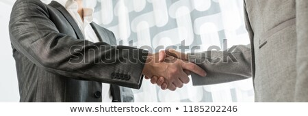 Businessman with wide hands stock photo © Paha_L