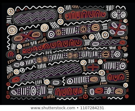Aboriginal paintings Stock photo © leeser