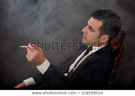 девушки · курение · сигарету · сигареты - Сток-фото © curaphotography