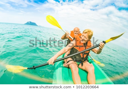 woman on a kayaking excursion stock photo © photography33