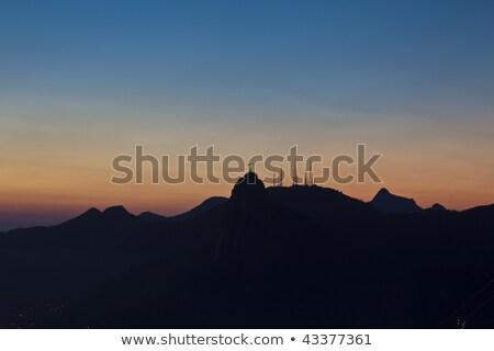 ночь Иисус сахар буханка горные гор Сток-фото © epstock