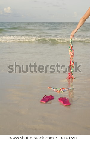 Woman skinny dipping Stock photo © photography33