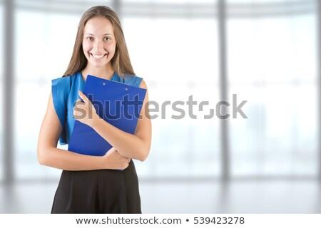 若い女性 腕 座って 笑顔 ストックフォト © ruigsantos