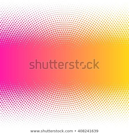 background with pink and orange bubbles Stock photo © Lemuana