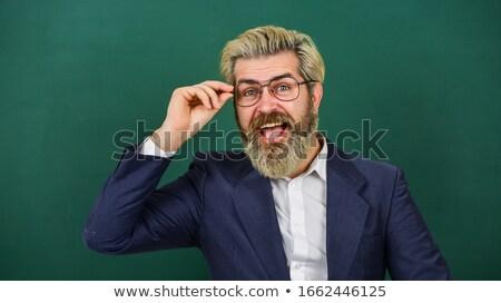 Smart · учитель · портрет · привлекательный · бизнесмен · костюм - Сток-фото © pressmaster
