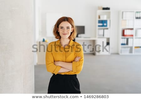 Young Businesswoman Stock photo © filipw