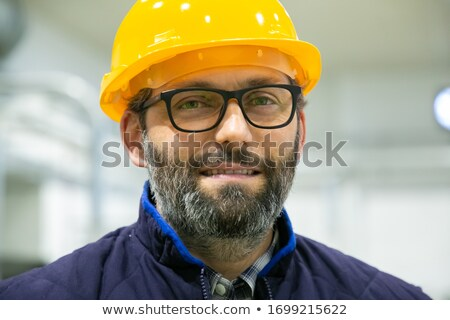 Closeup of a man in a hardhat Stock photo © photography33