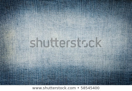 Closeup Blue Denim Jeans Texture With Copy Paste Space Stock Photo