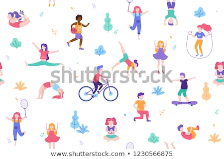 Variety of physical activities Stock photo © photography33