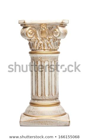 Corinthian antique column Stock photo © Alenmax