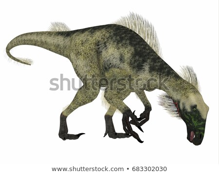 Beipiaosaurus Stock photo © AlienCat